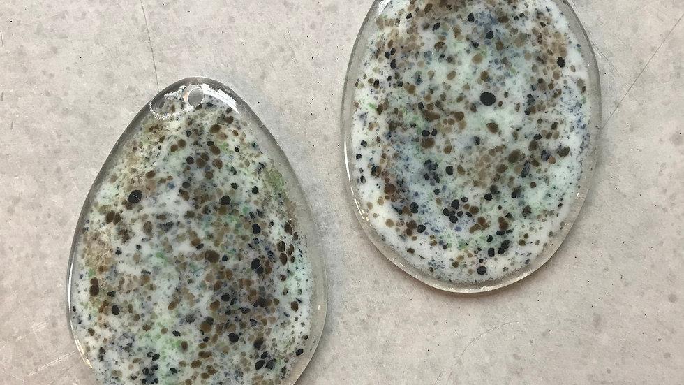 Påske-egg 9 cm, selges i sett
