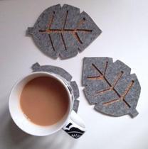 La Sous-tasse en feutrine - Poser son café ou son thé sur du beau- Pour tous 2H les 2