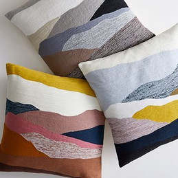 coussin paysage