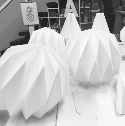 Le Best atelier Diy à Latéo - Lampe origami modulaire - pour tous 3H