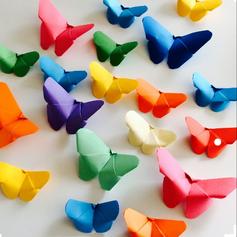 Tableau papillons origami - les enfants à l'cole