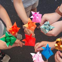 Mairie d'Oullins - Origami en famille