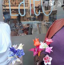Le Bouquets Origami - plusieurs fleurs, différentes techniques - pour tous 2H