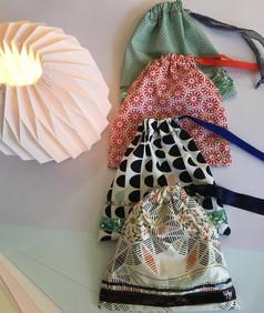 Pochettes ruban perle