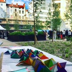 Orgami participatif - Influence square - Confluence