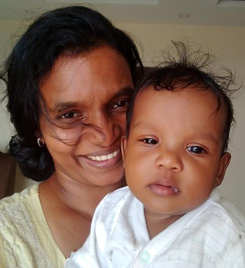 Sandhya and Neha