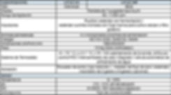 Tabla de Especificaciones Bioreactores - Fermentadores