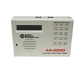 Alarma de Nivel y Temperatura AD-2000