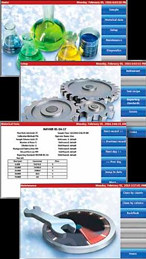Software de Control Caracterizador y Contador de Partículas en Fluidos HIAC 8011+