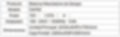Tabla de Especificaciones Balanza CM760