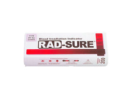 Tiras para Irradiacion de Sangre RAD-SURE