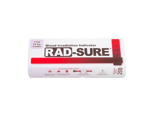 Indicadores de irradiación de sangre RAD-SURE ™