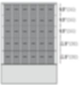 Configuración de Cajones Ultracongelador iUF126