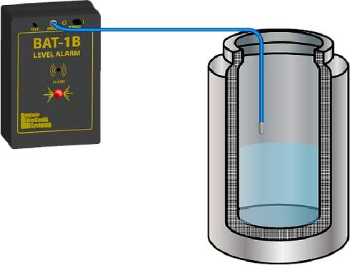 Configuración de la Alarma BAT-1B