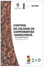 Este documento se estructura a partir de la revisión de estándares internacionales y la normativa Colombiana vigente para bancos de sangre, describe la recomendación del Instituto Nacional de Salud como Coordinador de la Red Nacional de Bancos de Sangre y del Instituto Nacional de Vigilancia de Medicamentos y Alimentos como autoridad sanitaria, respecto al control de calidad de componentes sanguíneos y es una herramienta de consulta en aspectos esenciales como: frecuencia de realización, criterios de aceptación, parámetros de referencia mínimos para cada uno de los componentes sanguíneos y métodos opcionales de medición; de manera que sea posible unificar los conceptos dentro de los bancos de sangre y servicios de transfusión. La aplicación de estos criterios de calidad en los bancos de sangre conducirá a la obtención de componentes sanguíneos de mayor calidad y seguridad posibles.