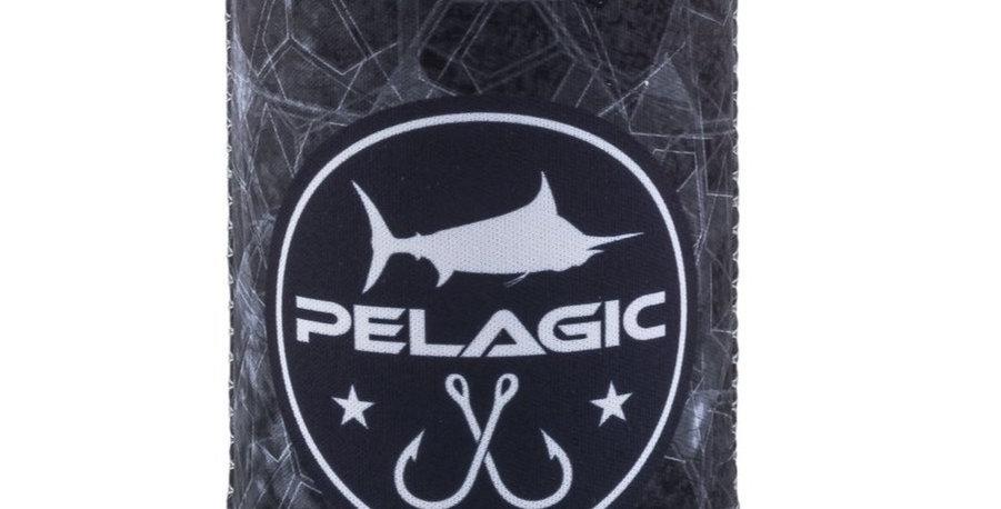 Pelagic Porta Lata Hexed Coozie Negro