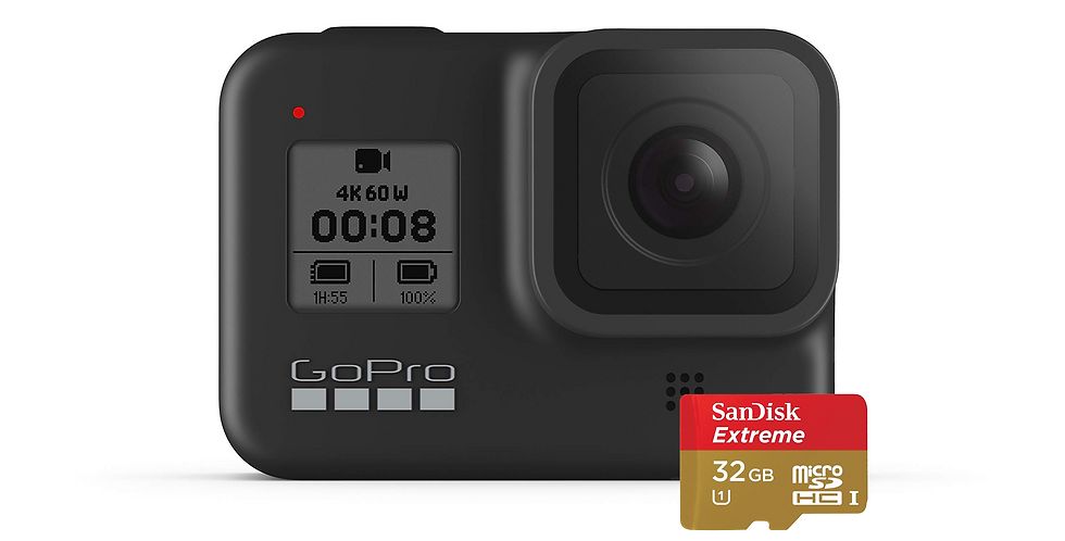 GoPro HERO8 Black Cámara de Acción 4K 12MP + MicroSD 32GB