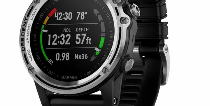 Garmin Reloj Computadora para Buceo Descent Mk1 GPS