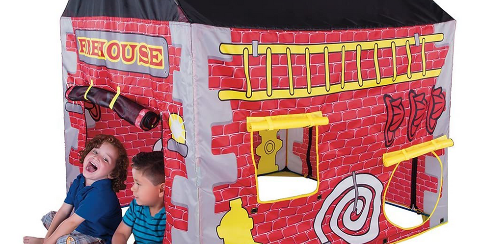 Pacific Play Tents Estación de Bomberos Infantil tipo Casa de Campaña