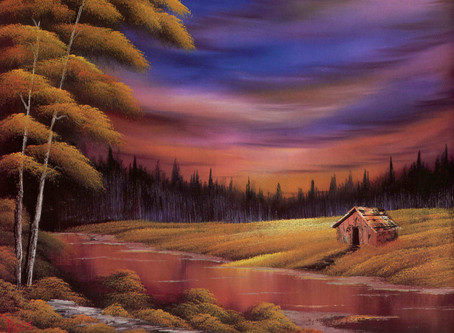 You really CAN paint! Bob Ross style, of course!
