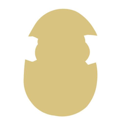 Chick Egg Cutout Style 1