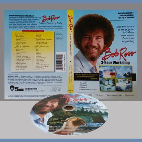 3-Hour Workshop DVD - Bob Ross