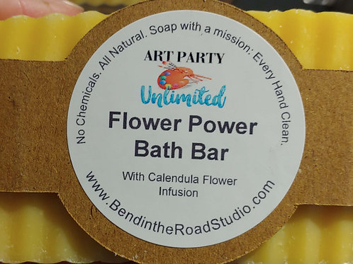Flower Power Bath Bar