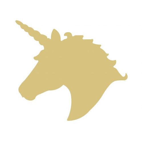 Unicorn Head Cutout Style 1