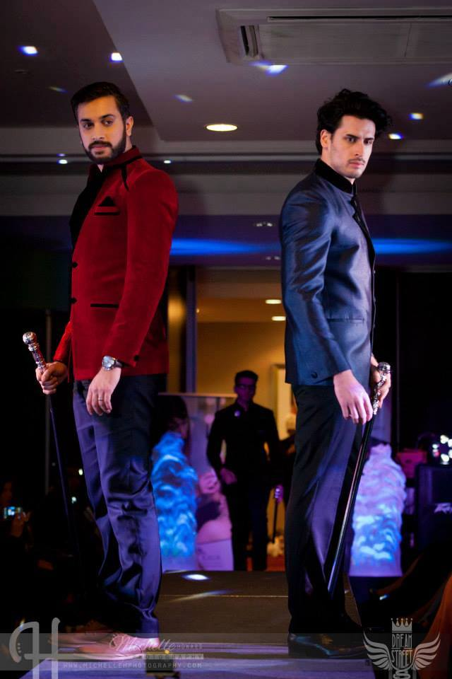 Models wearing Av Couture