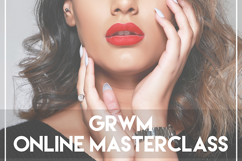 GRWM VIRTUAL MASTERCLASS