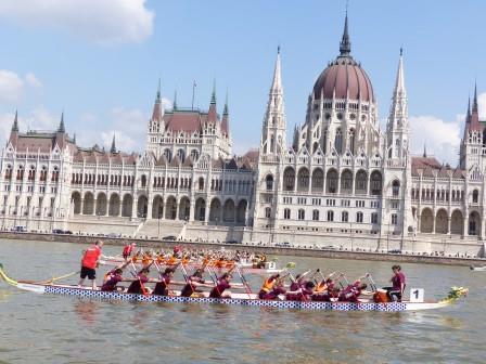 Start Dunai regatta