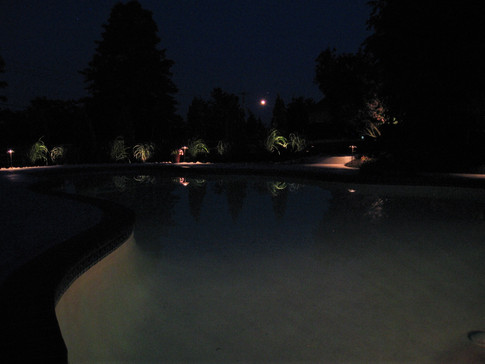 Pool Patio Lighting