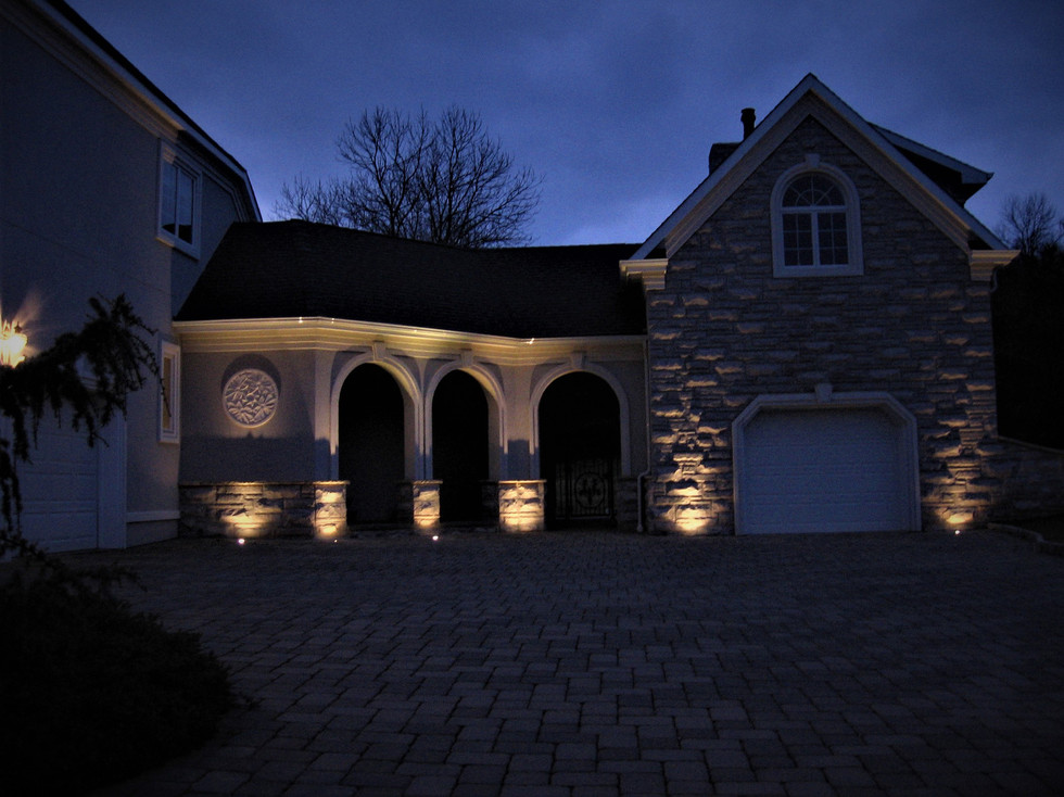 High Lighting Architectural Elements