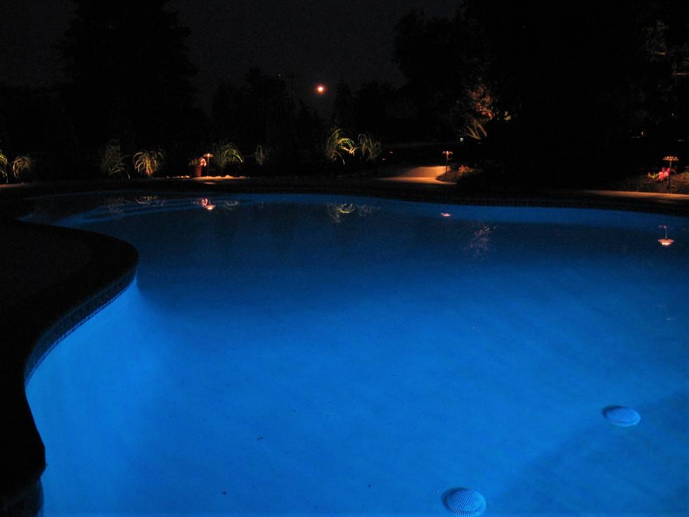 Pool Path Lighting