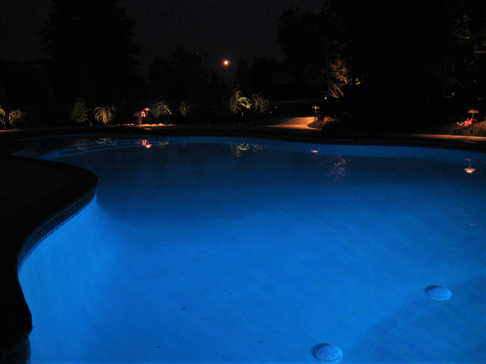 Pool Path Lighting