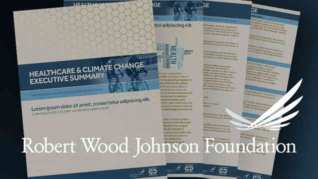 Print Design, Page Layout, Document Setup: Climate Central / Robert Wood Johnson Foundation (in development)