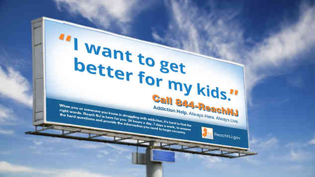 NJ Division of Human Services - ReachNJ Helpline Campaign