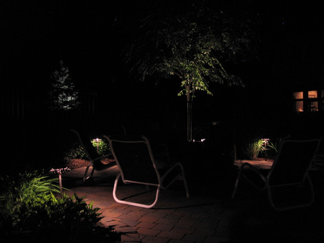 Patio Mood Lighting