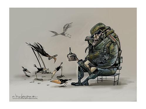 Alimentando la guerra $30 usd