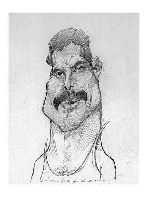 Freddie Mercury $30 usd