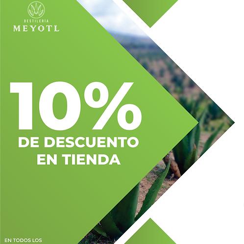 10% de descuento destilados