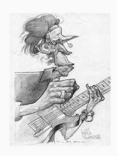 Keith Richards $350 usd