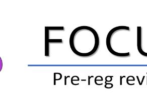 FOCUS Pre-Reg Revision
