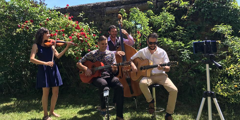 Quartet Jazz Manouche @ Privé (73)
