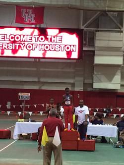 Houston Ifah 1st Place 400m