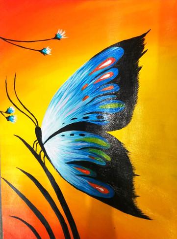Butterfly, the Fine Art: Delicate Stroke work