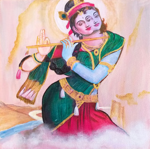 Dual Radha Krishna
