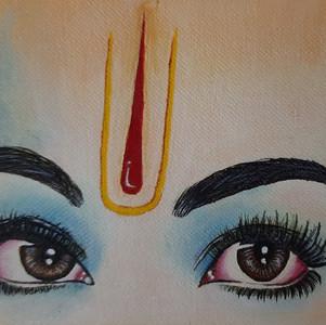 Krishna : Love in his eyes