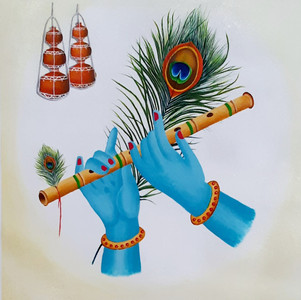 Lord Krishna With his Flute
