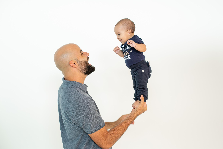 Nathan com 4 meses